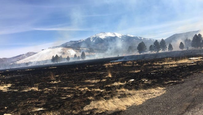 "A ""personal drone"" caught fire on March 6, 2018, and started a 335-acre wildfire, according to the Coconino National Forest."