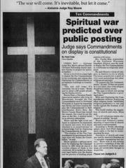 A front-page story in the Green Bay Press-Gazette following