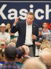 Gov. John Kasich holds a rally in St. George Saturday,