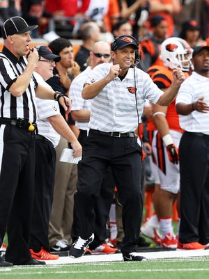 Oregon State football coach Mike Riley has the most wins in school history, but the Beavers have lost nine of their last 10 Pac-12 games.