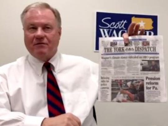 Sen. Scott Wagner, R-Spring Garden Township, posted
