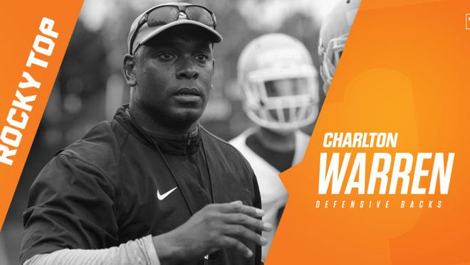 Tennessee has hired Charlton Warren as its new defensive backs coach, replacing Willie Martinez.