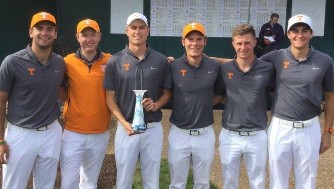 The Tennessee men's golf team won the Kingsmill Intercollegiate at Kingsmill Resort.