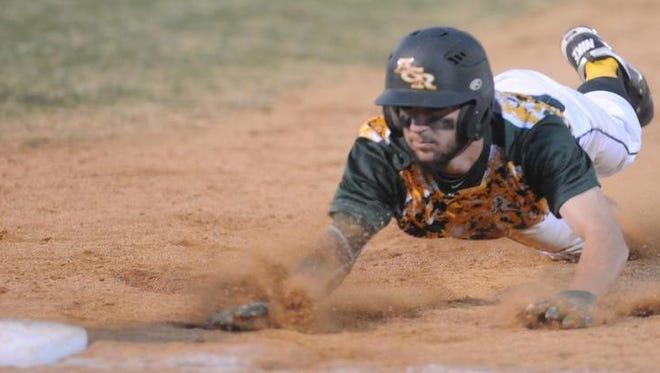 Reynolds is fourth in the Mountain Athletic 3-A/3-A Conference baseball standings.