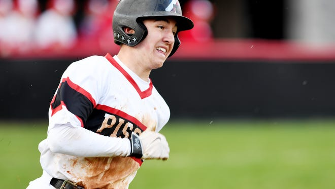 Pisgah defeated Franklin 7-5 in Canton March 20, 2018.