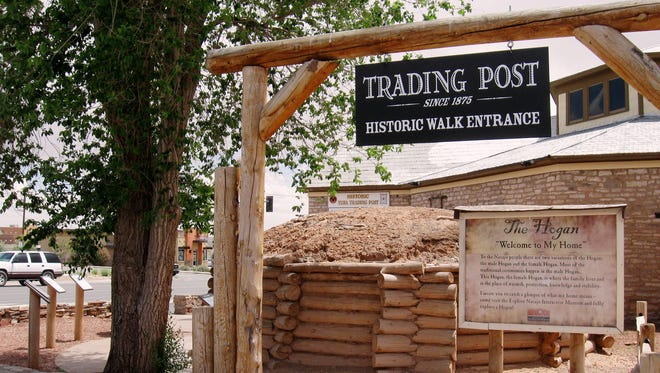 The Tuba City Trading Post has been restored to capture much of its original appearance.