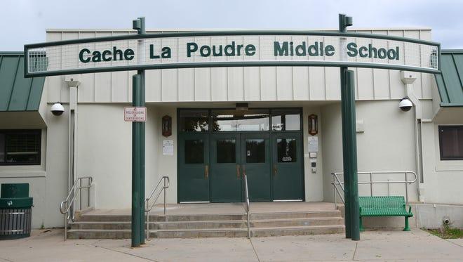 File photo of Cache La Poudre Middle School.