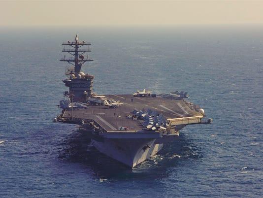 Nimitz Supports Operation Inherent Resolve