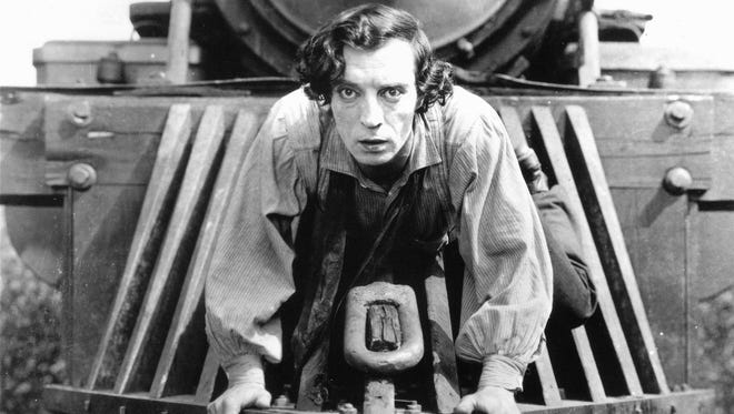 """Buster Keaton's """"The General"""" will be screened Sunday at the Clemens Center."""