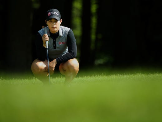 Putt Putt Golf Ann Arbor >> Minjee Lee leads in Michigan; pregnant Stacy Lewis tied for second