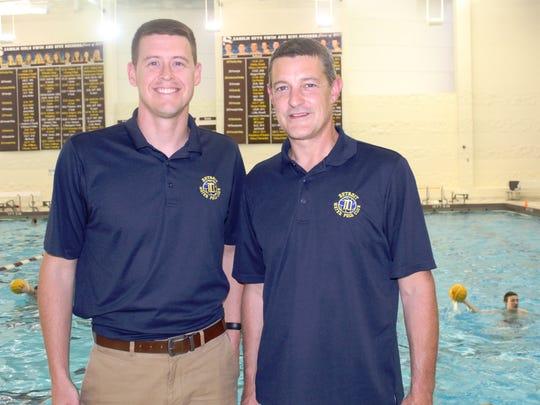 Detroit Water Polo Club (DWPC) coaches Josh Stephens
