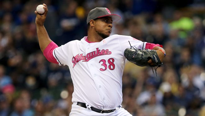 Wily Peralta's pitching style may fit better in the Brewers' bullpen.