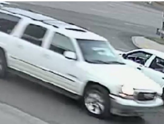 Another view of the suspect vehicle.