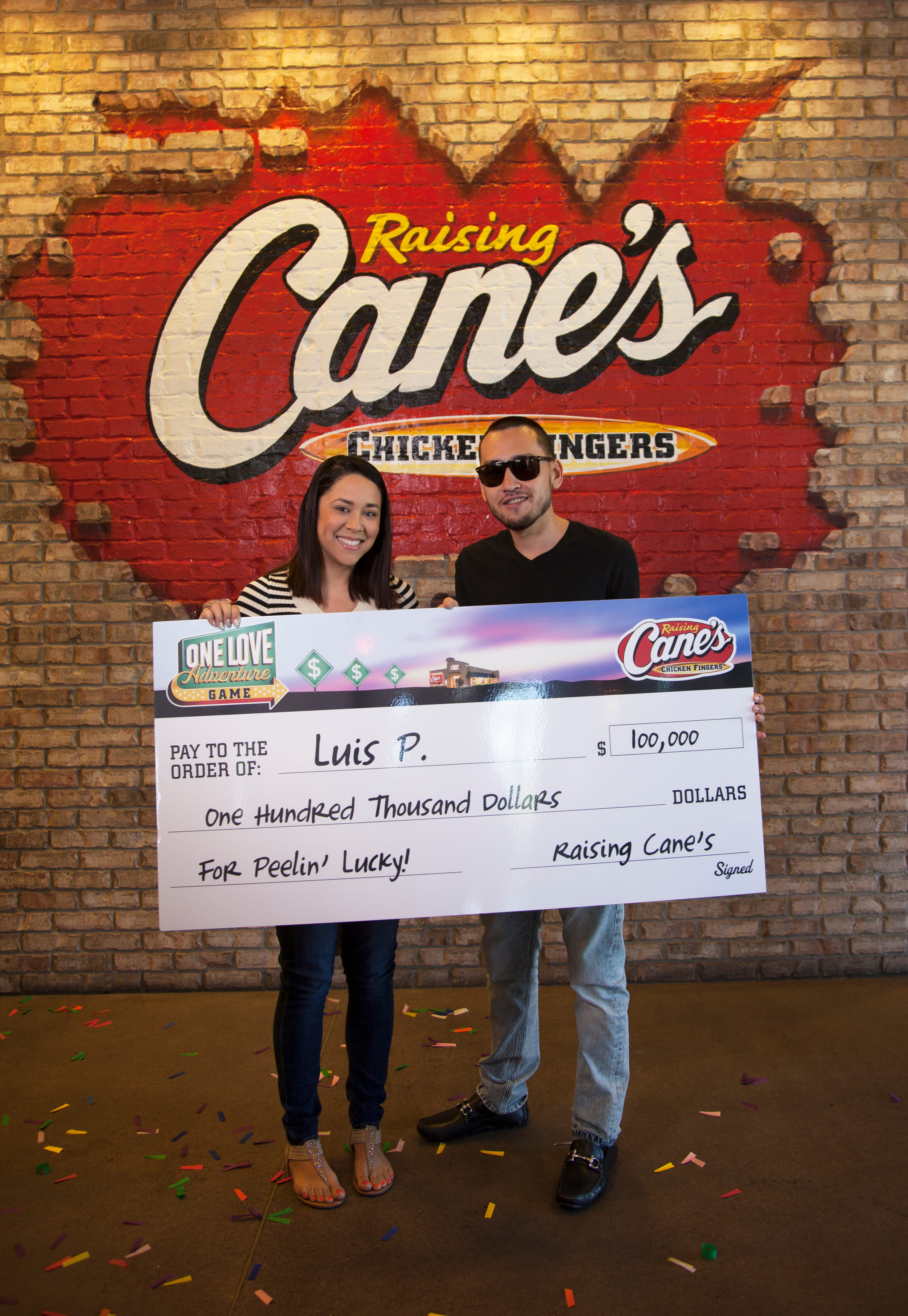 Raising canes one love giveaway sweepstakes