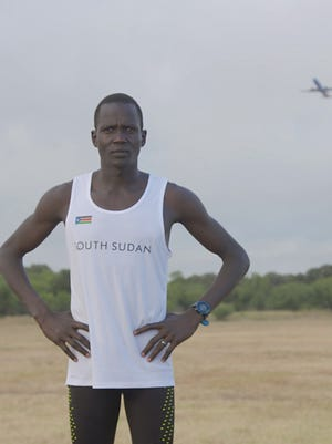 "Guor Mading Maker of what is now South Sudan is the subject of the documentary, ""Runner."""