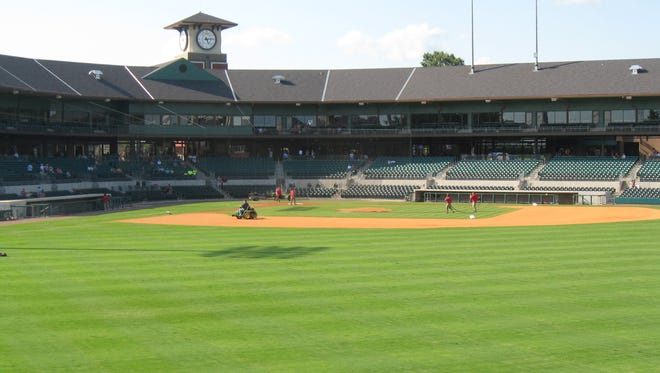 Dickey-Stephens Park in North Little Rock, home of the Arkansas Travelers.