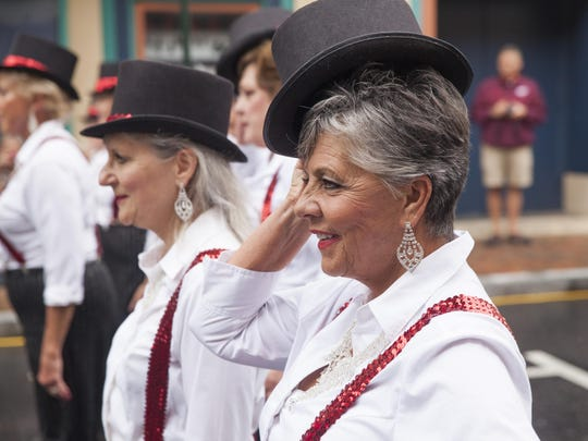 Photographed at last year's festival, Diane & Co. Dance