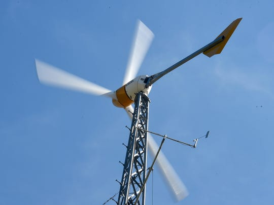 The Virginia Center for Wind Energy operates a wind turbine at the Small Wind Training and Testing Facility on the campus of James Madison University in Harrisonburg. The facility serves a variety of purposes such as addressing needs associated with development of a small wind workforce in Virginia. It is also used to conduct training and K-16 education regarding development and deployment of wind power in Virginia.
