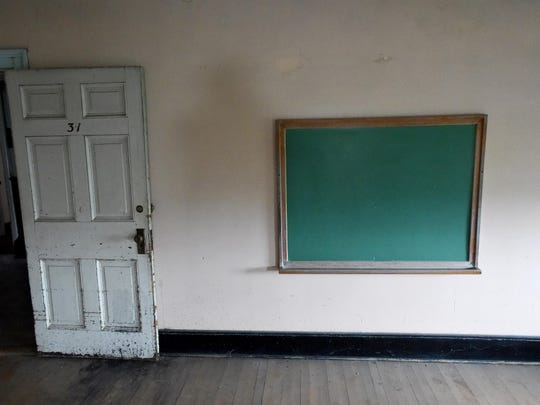 Currently unused space on the third floor of Main Hall was once a classroom decades past at the Virginia School for the Deaf and the Blind.