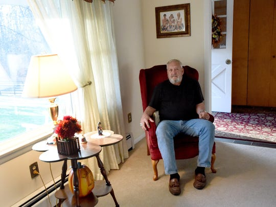 Duane T. Smith is a member of the Robert E. Lee High School class of 1967. He is photographed in his Augusta County home on Wednesday, Nov. 11, 2015.