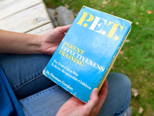 """The book entitled """"Parent Effectiveness Training"""" by Dr. Thomas Gordon inspired Sarah Roberson's parents in how they raised her and now it inspires her on how she raises her own children."""