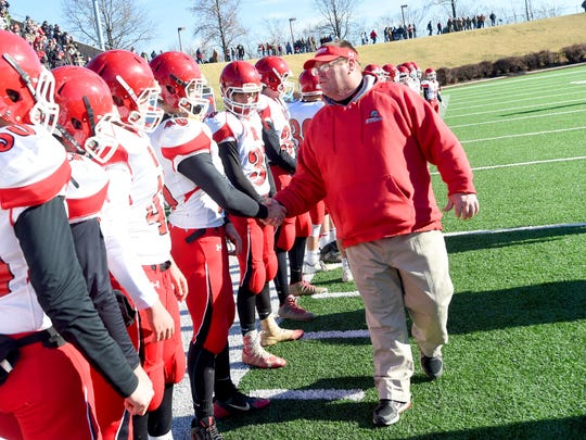 Riverheads' Robert Casto, the All-City/County Coach of the Year, guided the Gladiators to a 13-1 record and their fourth state championship since 2000.
