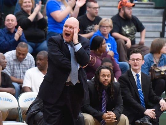 Jarrett Hatcher, who guided Robert E. Lee to its seventh state title this season, is the All-City/County Boys Basketball Coach of the Year.