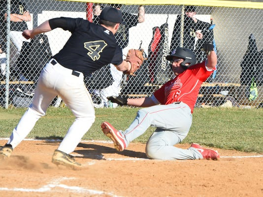 Buffalo Gap at Riverheads baseball