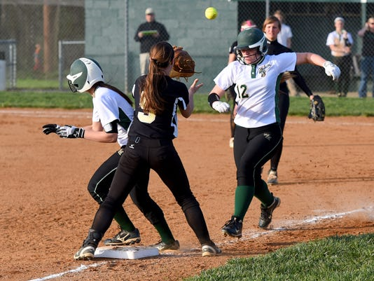 Buffalo Gap at Wilson Memorial softball