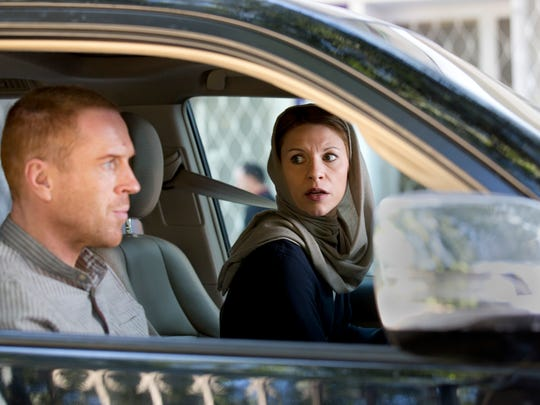 Sunday's 'Homeland' series finale acknowledges Sgt. Nicholas Brody (Damian Lewis), left, seen here in an early-season episode with spy Carrie Mathison (Claire Danes).