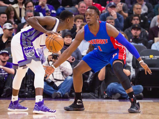 NBA: Detroit Pistons at Sacramento Kings