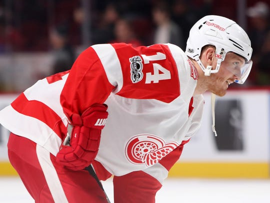 Dec 2, 2017; Montreal, Quebec, CAN; Detroit Red Wings