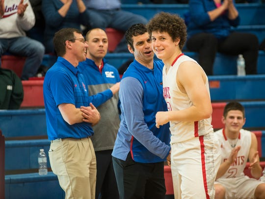 St. Clair's Ben Davidson is recognized for being the