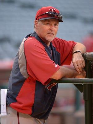 Twins hitting coach Tom Brunansky.