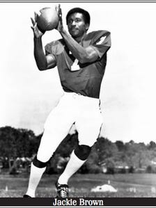 Jackie Brown was the Gamecocks' first African-American starter in football