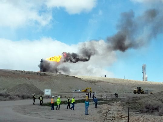 Wyoming Plant Explosion 042314