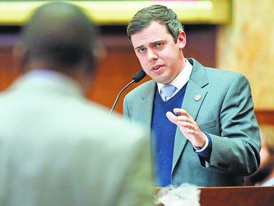 Toby Barker, Hattiesburg mayor and former House representative,