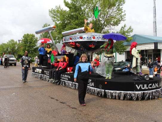 Vulcan parade