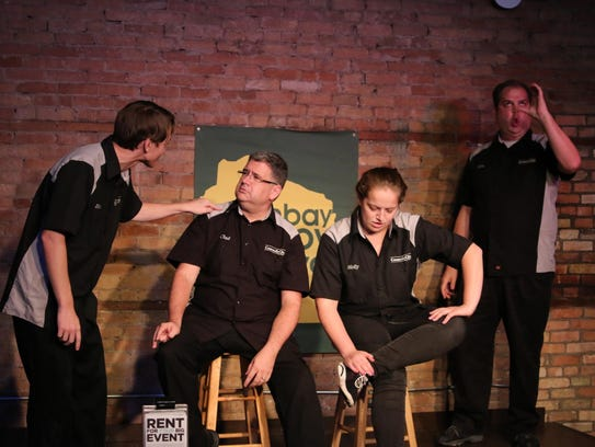 Comedy troupes from across the state as well as Chicago,