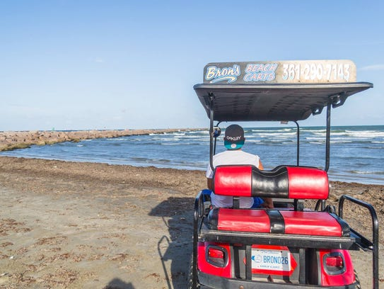 Bron's Beach Carts in Port Aransas will be open daily