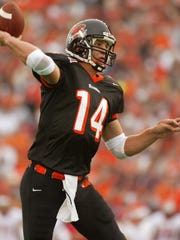 Derek Anderson is second in OSU career passing yards and touchdowns.
