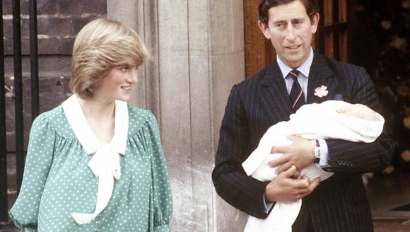 Prince Charles, Prince of Wales, and then-wife Princess