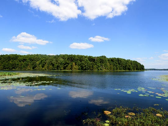 The lake at North Toledo Bend Park.