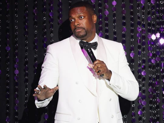 Chris Tucker brings his unique brand of comedy to the Fox Theatre Saturday.
