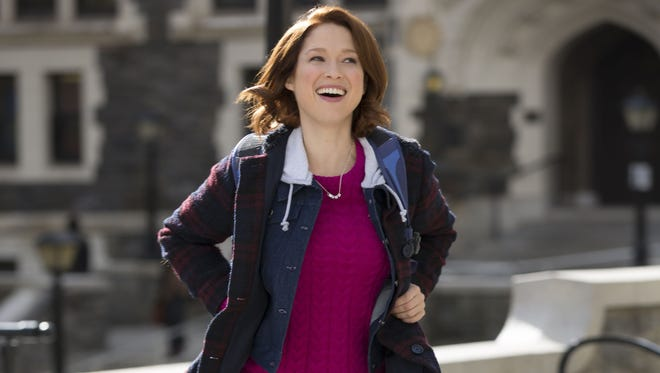 We guess that outfit is an improvement over Kimmy's (Ellie Kemper) looks from previous seasons.
