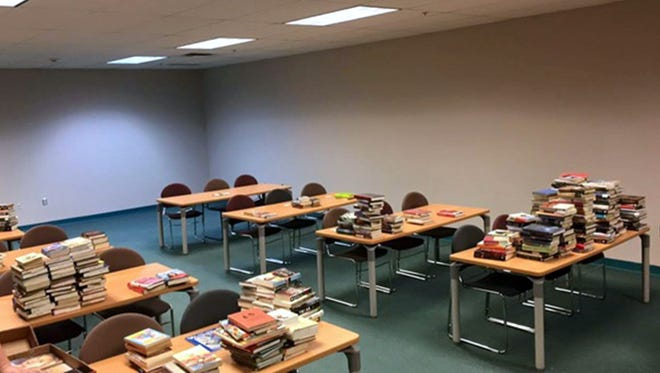 Used books have been donated to the Western New Mexico University-Deming branch for students to enjoy.