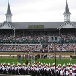 The Churchill Downs are one of Louisville's most iconic attractions.