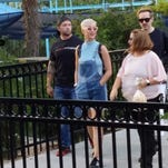 Katy Perry was playing hooky from rehearsals when she visited Hersheypark