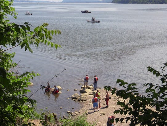 Croton search for missing swimmer suspended for Hudson river fishing spots