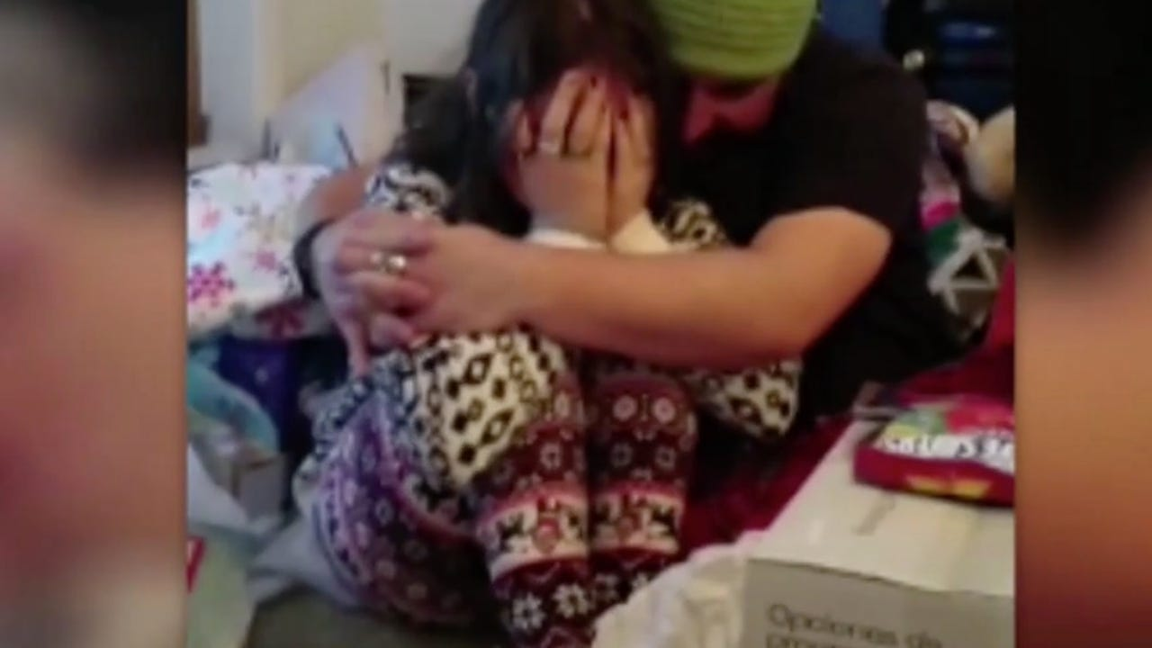 Surprise adoption papers have us all in tears